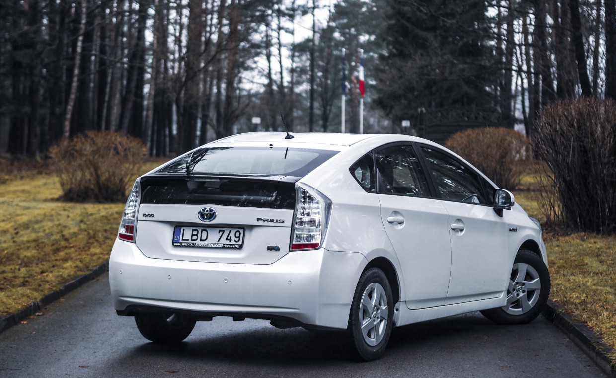 Car rental, Toyota Prius rent, Vilnius