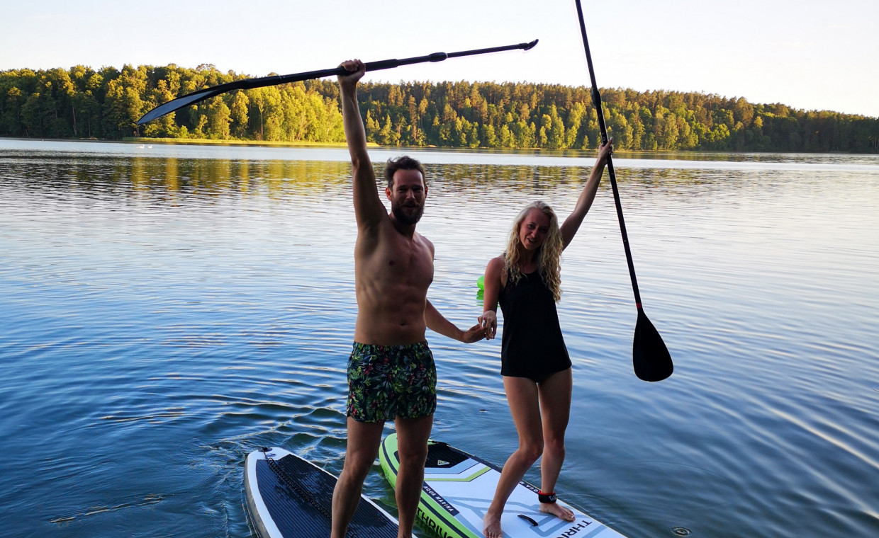 Holiday and travel items for rent, Promarine sup 360 rent, Vilnius