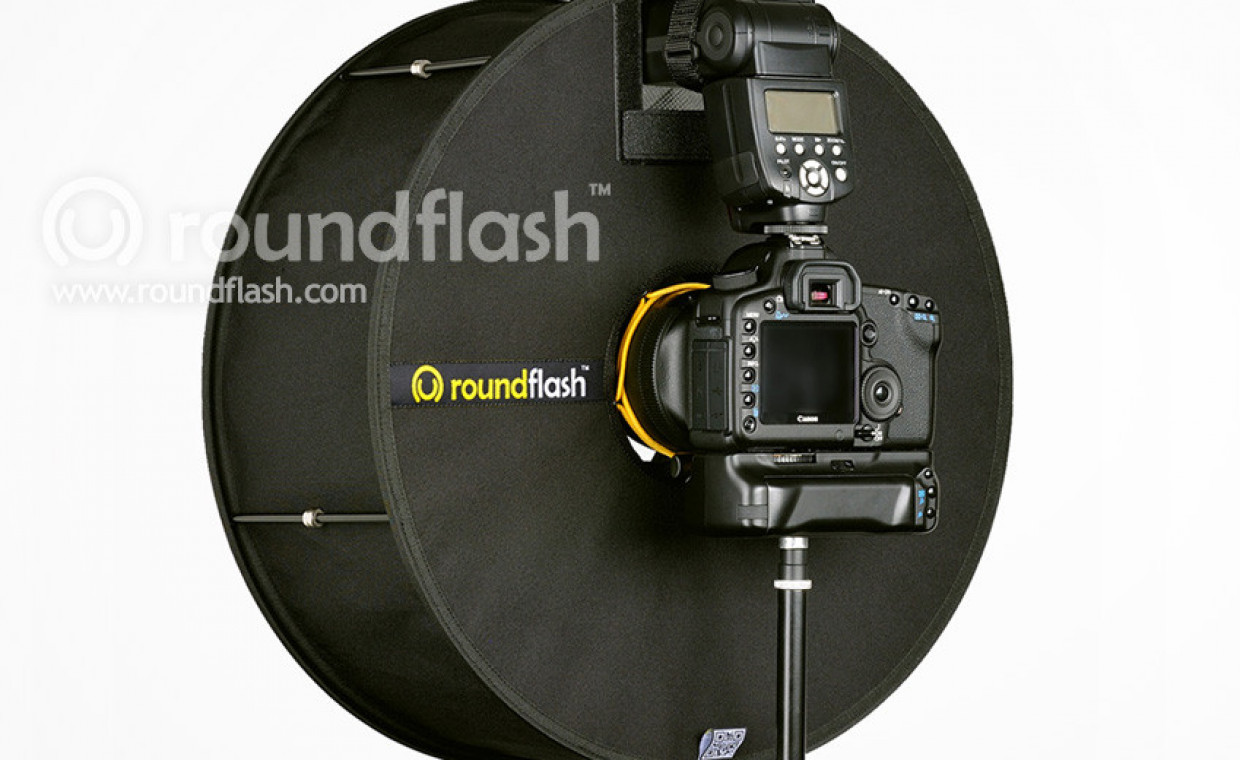 Photo studio equipment for rent, Originalus roundflash rent, Vilnius