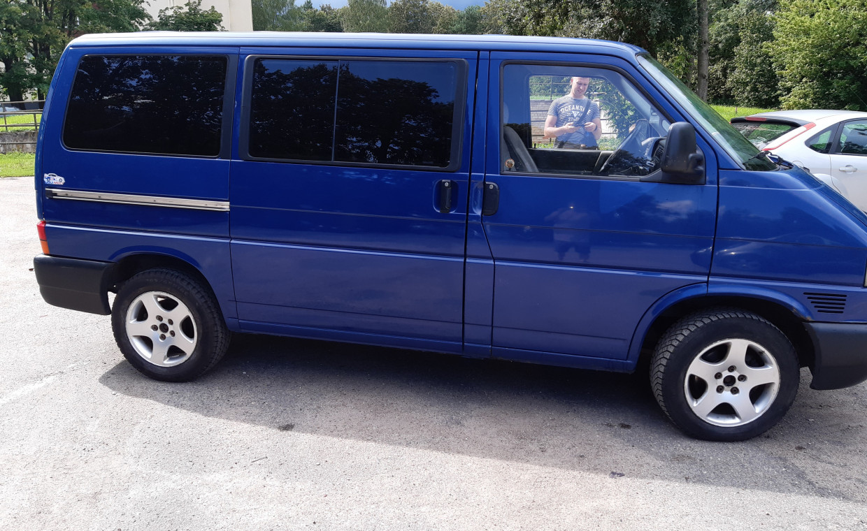 Vans and caravans for rent, VW transporter rent, Vilnius