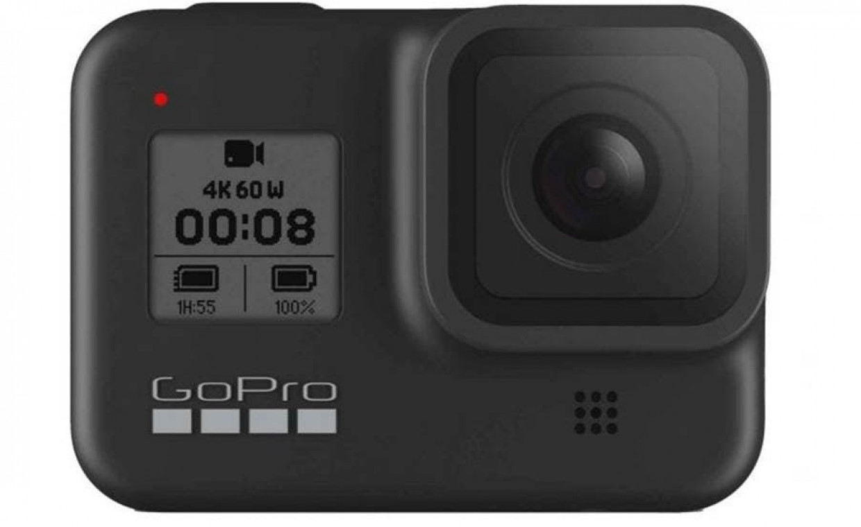 GoPro and action cameras for rent, GoPro 8 Hero 8 black - nemokami priedai rent, Kaunas