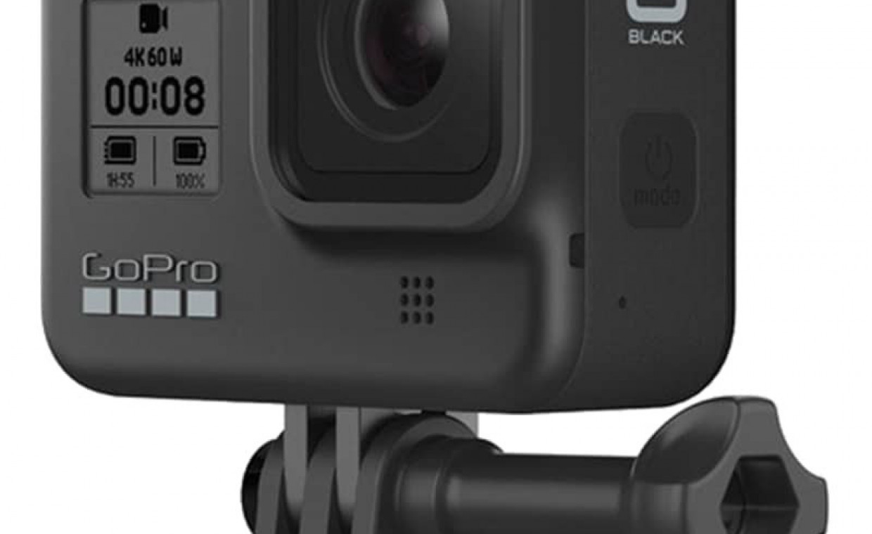 GoPro and action cameras for rent, GoPro Hero 8 Black with 128 GB storage rent, Vilnius