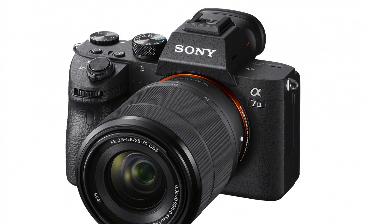 Cameras for rent, Sony A7 III ( a7 mark iii / A7iii) rent, Vilnius