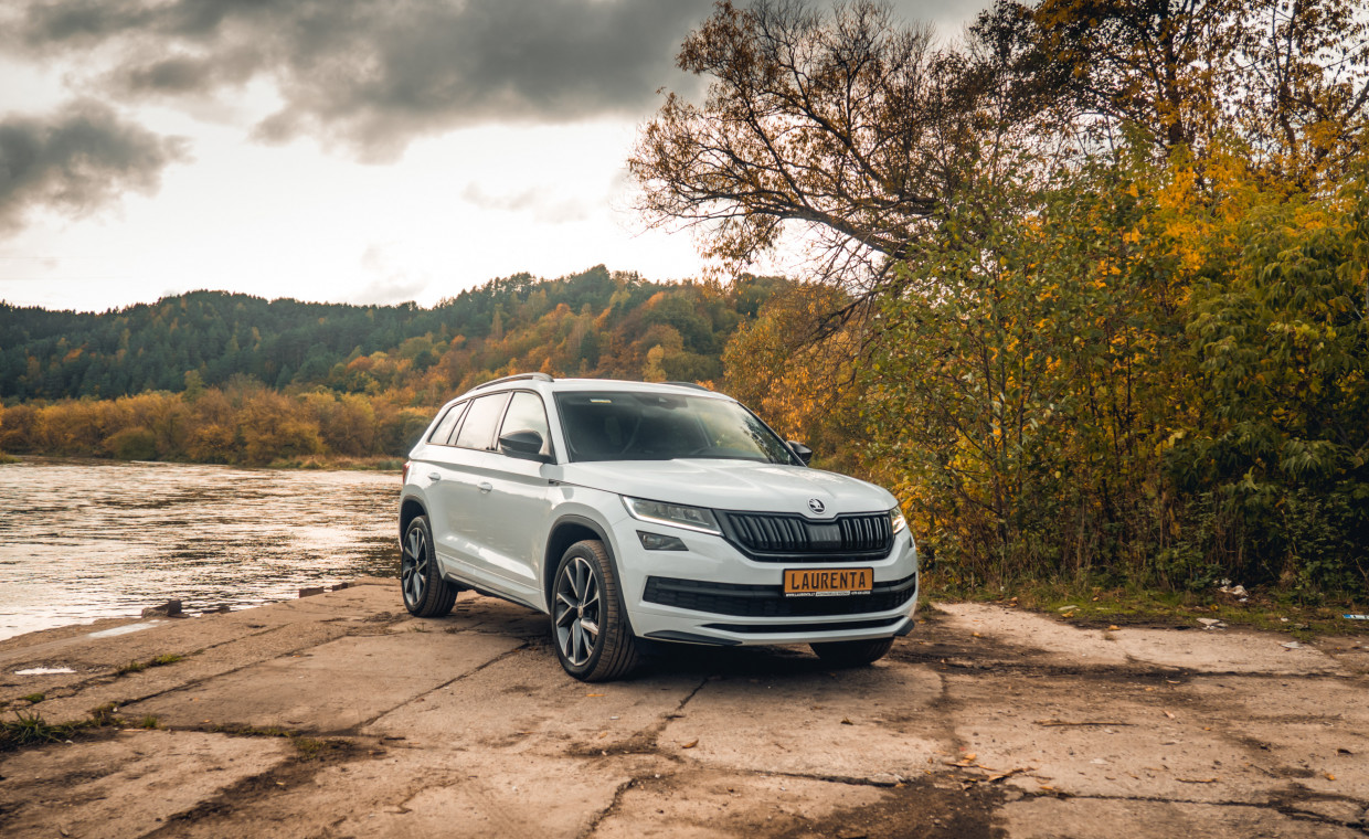 Car rental, Škoda Kodiaq rent, Vilnius