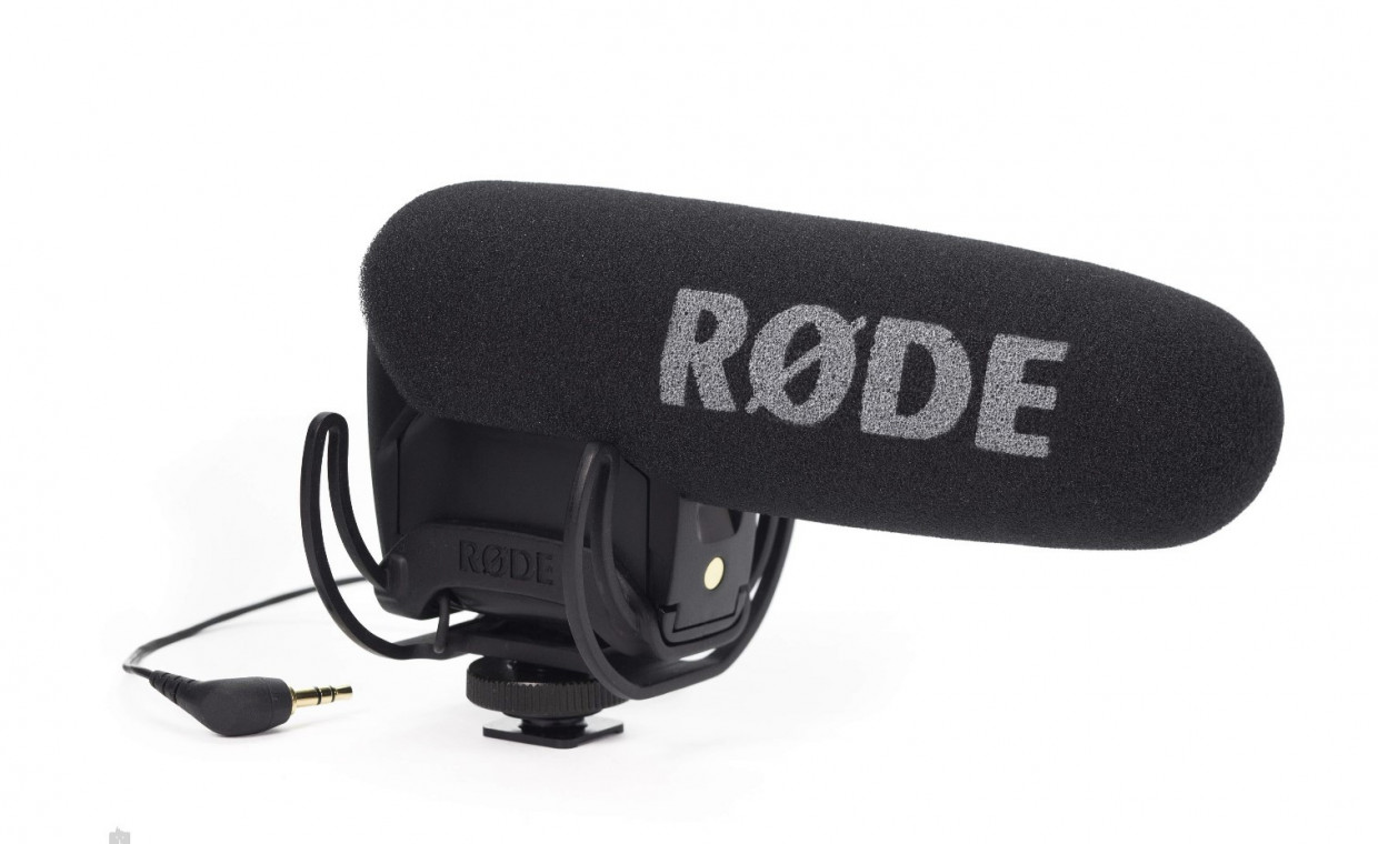 Camera accessories for rent, Rode Mikrofonas Stereo VideoMic Pro Ryco rent, Vilnius