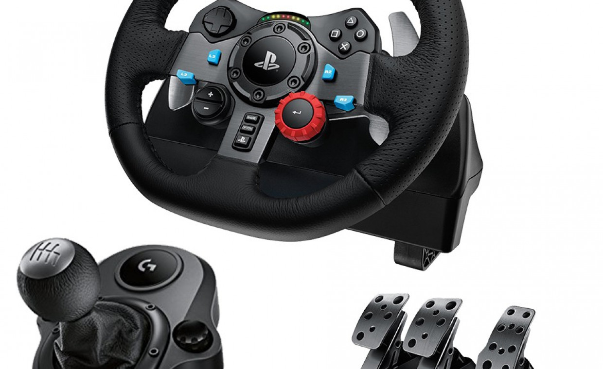 Gaming consoles for rent, Logitech G29 su Shifteriu rent, Kaunas