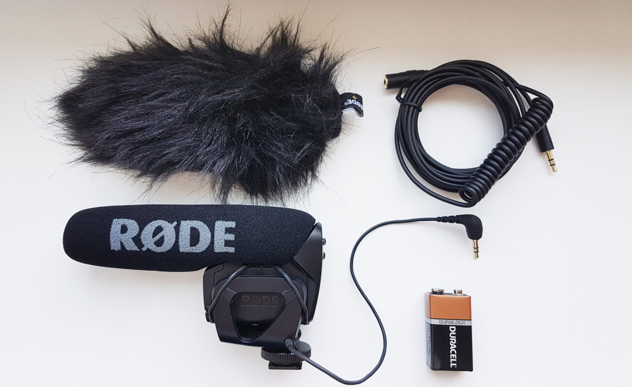 Audio equipment and instruments for rent, RODE VideoMic Pro mikrofonas rent, Kaunas