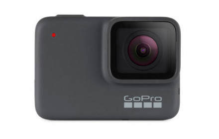 GoPro HERO 7 with accessories