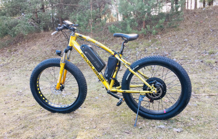 Fat electric bicycle